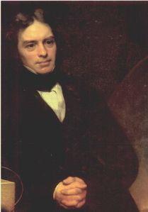 Faraday, retato al óleo