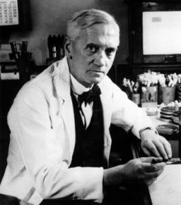 Fleming, descubridor de la lisozima