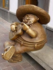 Escultura en Tlaquepaque