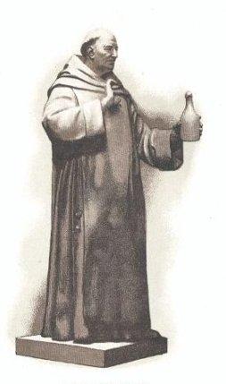 Estatua Dom Perignon