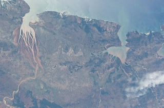 Nasa: estuarios de Madagascar